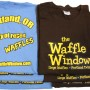Waffle Window Womens Tee Stacks