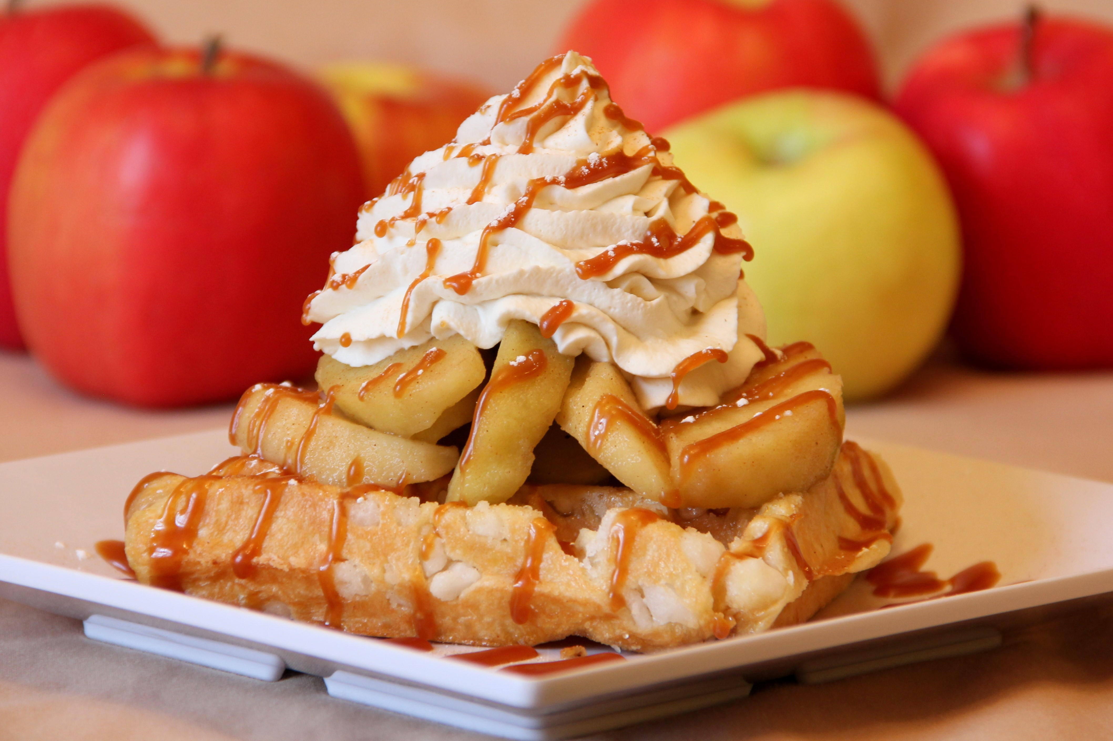 Apple Pie Waffles are Here!